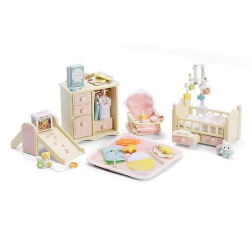 Calico Critters BABY'S PINK NURSERY