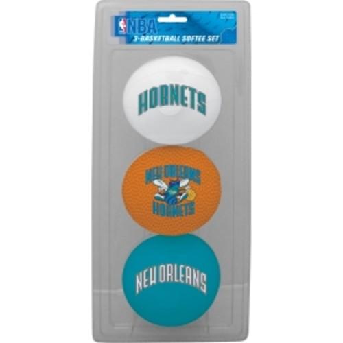 Rawlings New Orleans Hornets Softee Basketball Three-Ball Set
