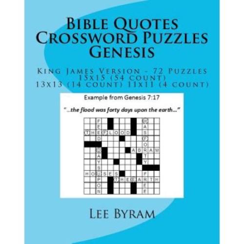 Bible Quotes Crossword Puzzles - Genesis