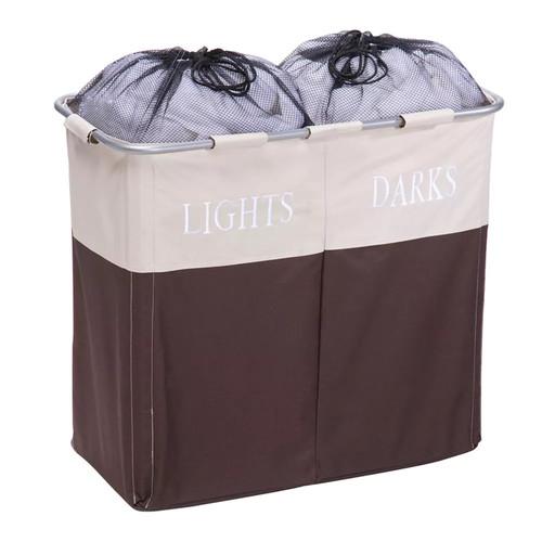 Honey-Can-Do Lights & Darks Double Laundry Sorter