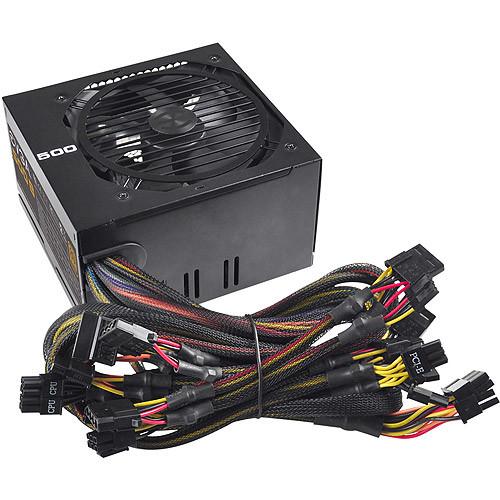 EVGA - 500 Bronze 500W Power Supply - Black