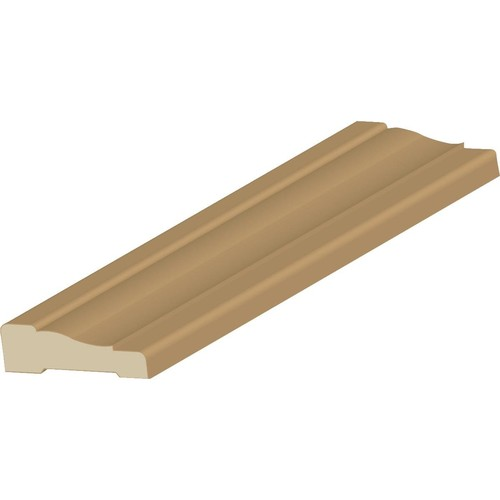 Cedar Creek Finger Joint WM356 Primed Pine Colonial Casing Molding - MLDWPICAS356B10