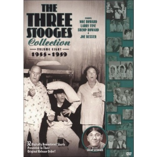 The Three Stooges Collection 1955-1959 (DVD)