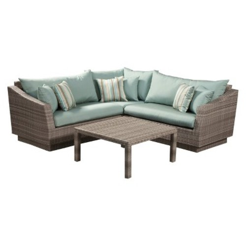 RST Brands Cannes 4 Piece Corner Sectional