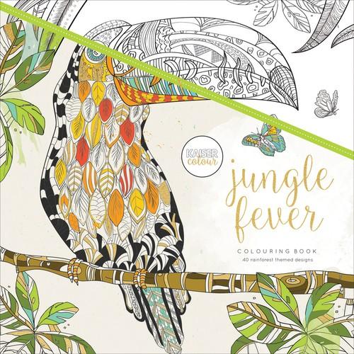 KaiserColour Perfect Bound Coloring Book Jungle Fever