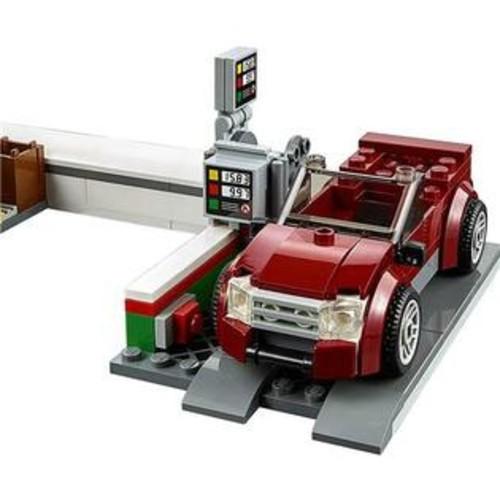 LEGO City Town Service Station Building Set