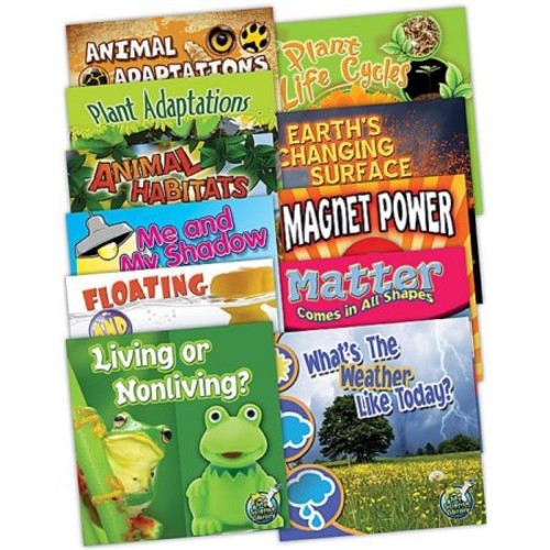 Teacher Created Resources 90002 My Science Library 1-2 Grades - Set of 11