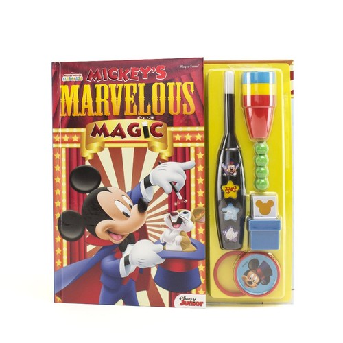 Disney Junior Mickey Mouse Clubhouse Mickey's Marvelous Magic Sound Book