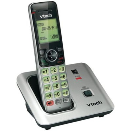 Vtech CS6619 Expandable Cordless Phone w/ Caller ID/Call Waiting, 50 Name/Number