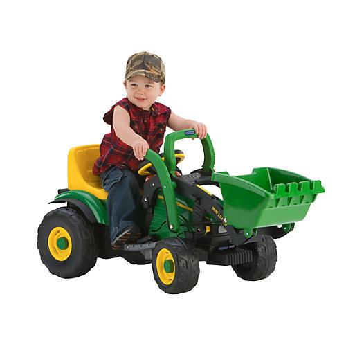 Peg Perego John Deere Mini Power Loader Tractor
