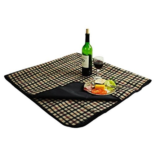 Picnic at Ascot Outdoor Picnic Blanket with Waterproof Backing 58