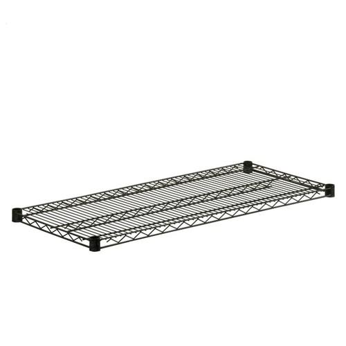 Honey-Can-Do Powder Coated Wire Shelf Steel, Black