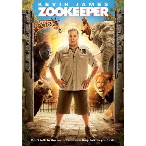 Sony Home Pictures Comedy Zookeeper (DVD)