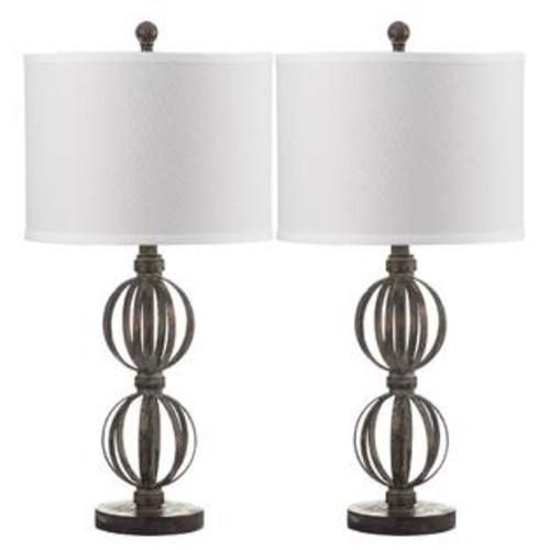 Safavieh Double Sphere Table Lamp-Set of 2