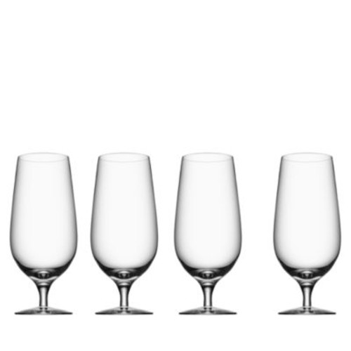 Beer Collection Lager Glass, Set of 4