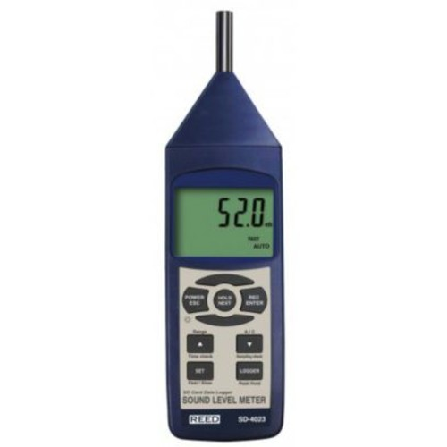 REED SD-4023 SD Series Sound Level Meter, Datalogger, 30 to 130dB