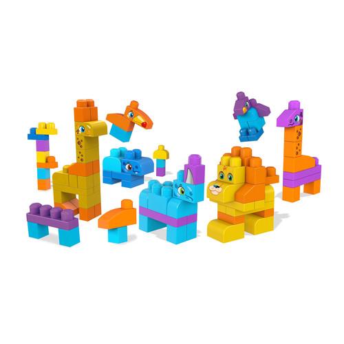 Mega Bloks Let's Build - Safari Friends