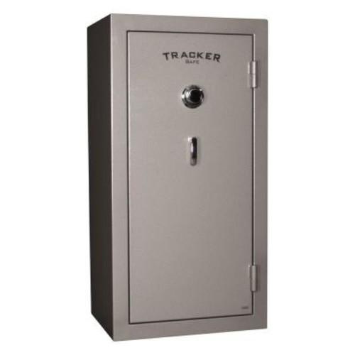 Tracker Safe 24-Gun Fire-Resistant Combination/Dial Lock Gun Safe, Gray