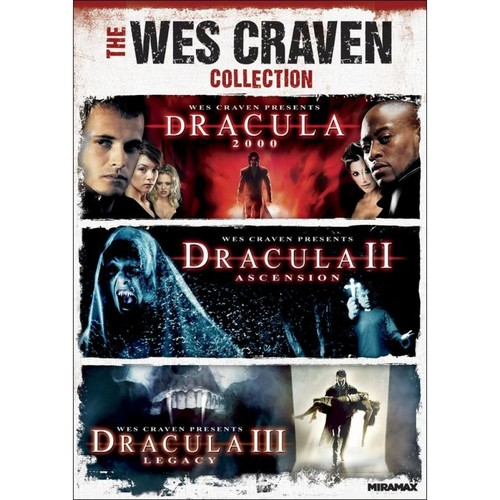 The Wes Craven Collection: Dracula 2000/Dracula II - Ascension/Dracula III - Legacy [DVD]