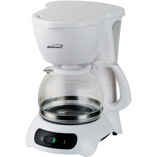 Brentwood 97083228M 4-CUP COFFEE MAKER (WHITE)