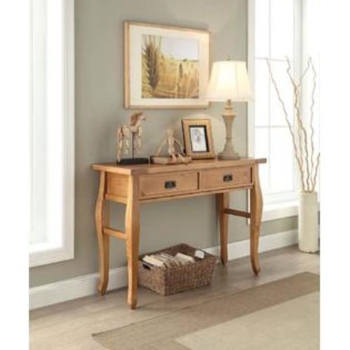 Linon Home Linon Santa Fe Console Table Antique Finish