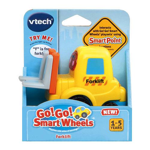 VTech Go! Go! Smart Wheels Forklift Playset