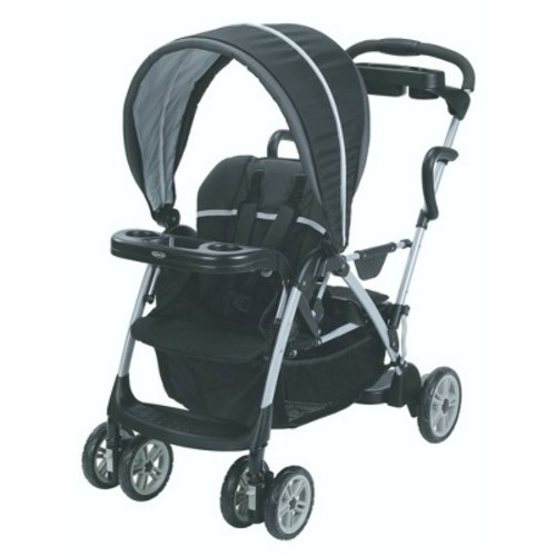 Graco Roomfor2 Click Connect Stand and Ride Stroller, Gotham [Gotham, 1]