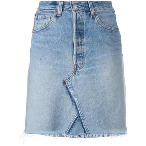 RE/DONE Short Denim Skirt