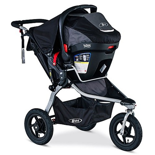 BOB Rambler Travel System in Black