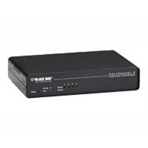Black Box AlertWerks ServSensor 4 with Temperature/Humidity Sensor - Environment monitoring device - 4 ports - 10Mb LAN