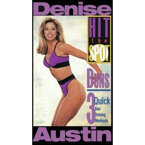Denise Austin: Hit the Spot - Buns [DVD] [1995]
