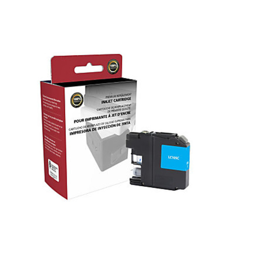 Clover Technologies Group High-Yield Remanufactured Ink Cartridge, Cyan, 118070 (Brother LC105C)