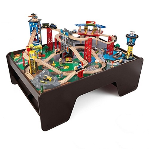 KidKraft Super Highway Train Set and Table