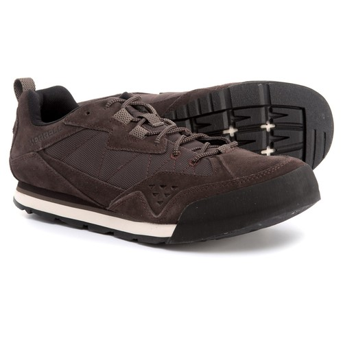 Merrell Burnt Rock Tura Rugged Casual Sneakers - Suede (For Men) [width: M]