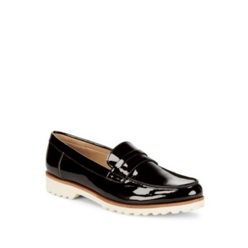 Karl Lagerfeld - Bordeaux Prep Leather Loafers