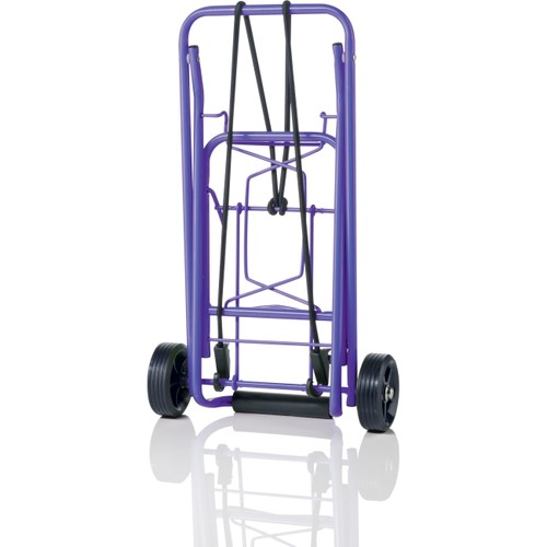 Travel Smart by Conair Folding Multi-Use Cart, Purple [Purple]