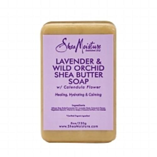 SheaMoisture Lavender & Wild Orchid Shea Butter Soap