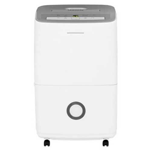 Frigidaire - 30 Pint Dehumidifier with Humidity Control - White/Gray