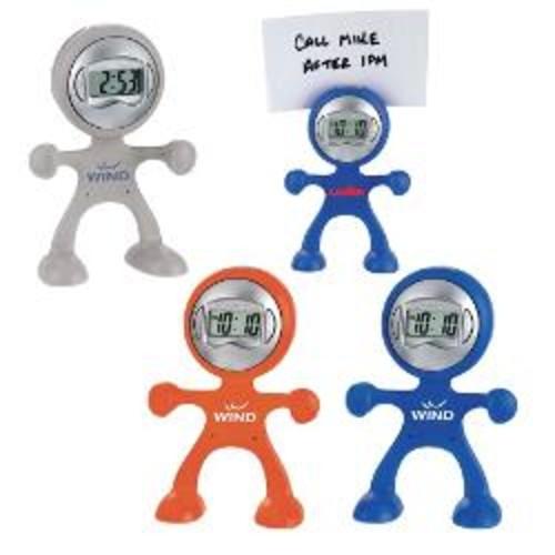 The Flex Man Digital Clock