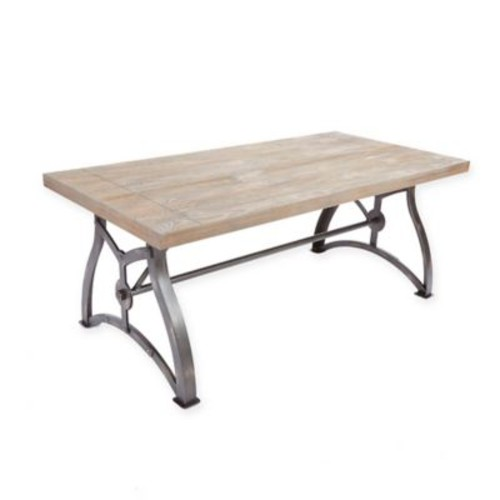 Silverwood Beckett Industrial Collection Coffee Table in Brown