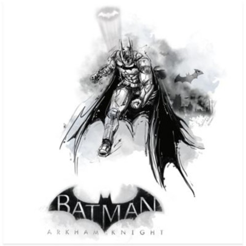 Batman Arkham Knight Wall Graphix Giant Peel and Stick Wall Decals