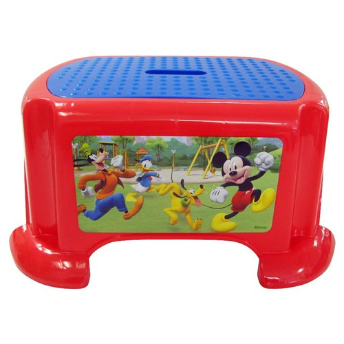 Mickey Mouse Roadster Racer Step Stool
