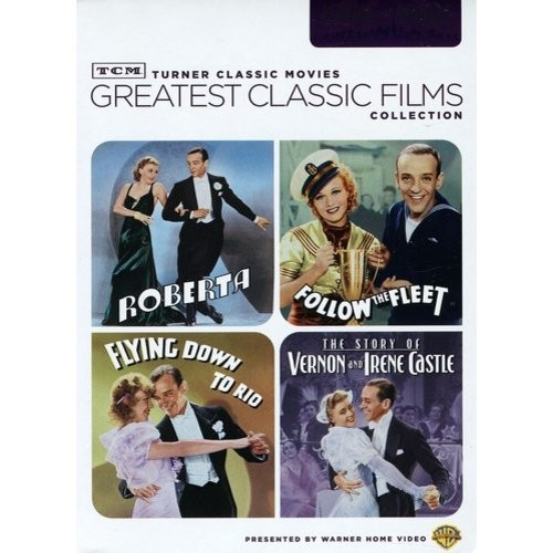 TCM Greatest Classic Film Collection: Astaire & Rogers Volume Two (Roberta / Follow the Fleet / Flying Down to Rio / The Story of Vernon and Irene Castle): Fred Astaire, Ginger Rogers, Irene Dunne, Randolph Scott, William A. Seiter, H.C. Potter: Movies & TV
