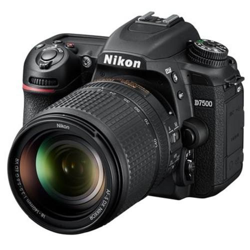 Nikon D7500 DSLR with 18-140mm VR Lens - With Pro Accessory Bundle