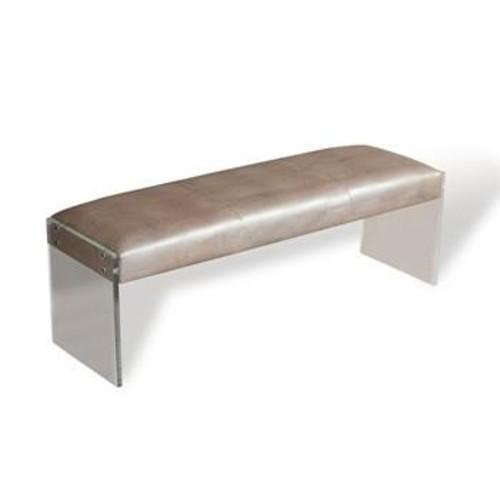 Nori Lizard Bench design by Interlude Home