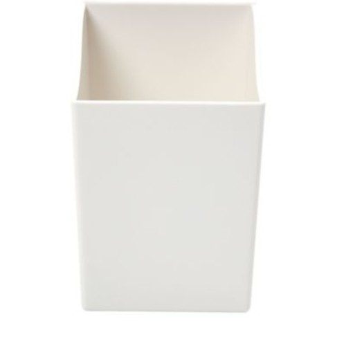 Martha Stewart Wall Manager System Hanging Pencil Cup, White (50340)