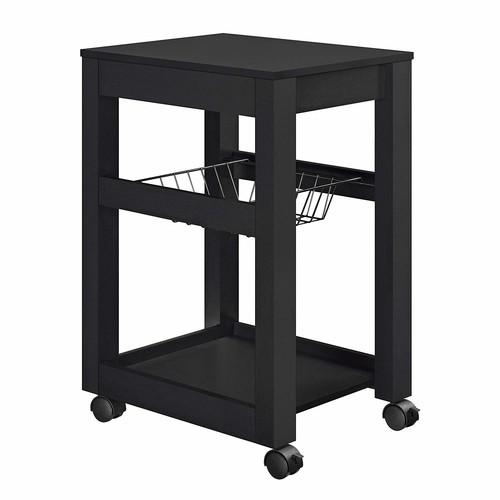 Altra Furniture Altra Parsons Storage Cart, black [Black]