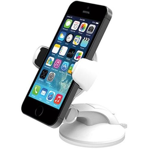 iOttie Easy Flex 3 Car Mount Holder for iPhone 5/5C/5S/6/6S/SE, Galaxy S5/S6/S7, S6/S7Edge, White