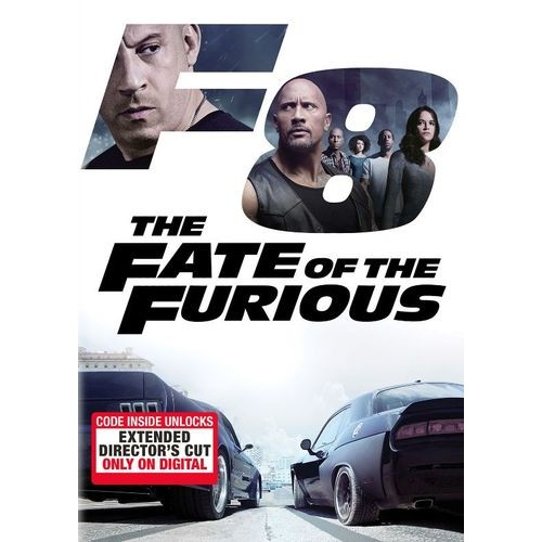 The Fate of the Furious [DVD] [2017]