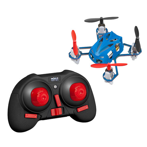 Micro Supernova Quadcopter RC Drone by World Tech Toys